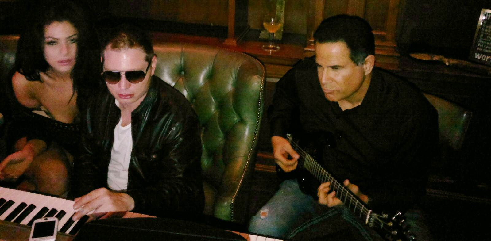 Keith Middlebrook, Scott Storch. Scott Storch Producer. Keith Middlebrook tmz, scott storch tmz, Jam session. Beverly Hills. tmz.